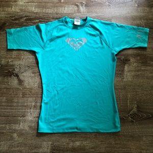 Roxy rash guard/swim shirt/sun shirt